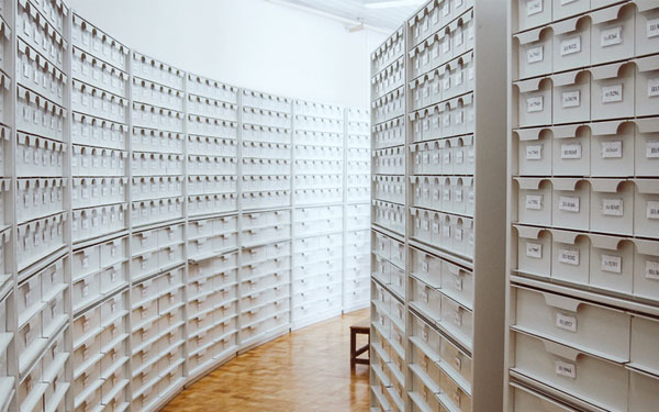 card catalogue room